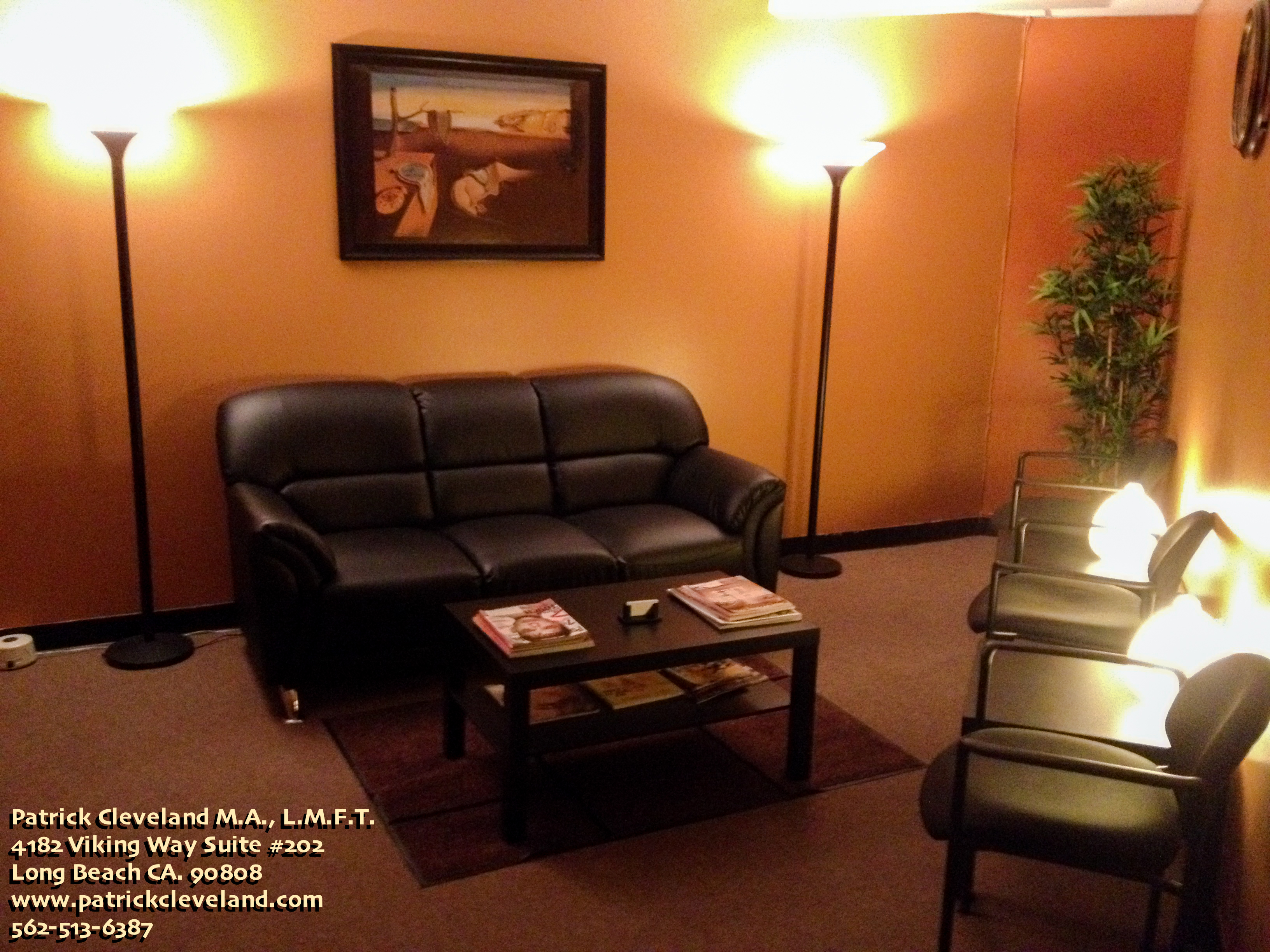 Daybreak Counseling Center Suite #202 Waiting Room